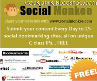 Free Quality Backlinks With Social Monkee