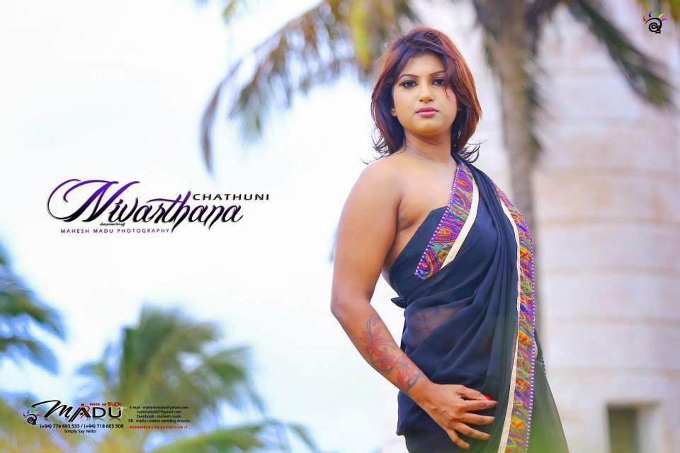 Chathuni Nivarthana saree
