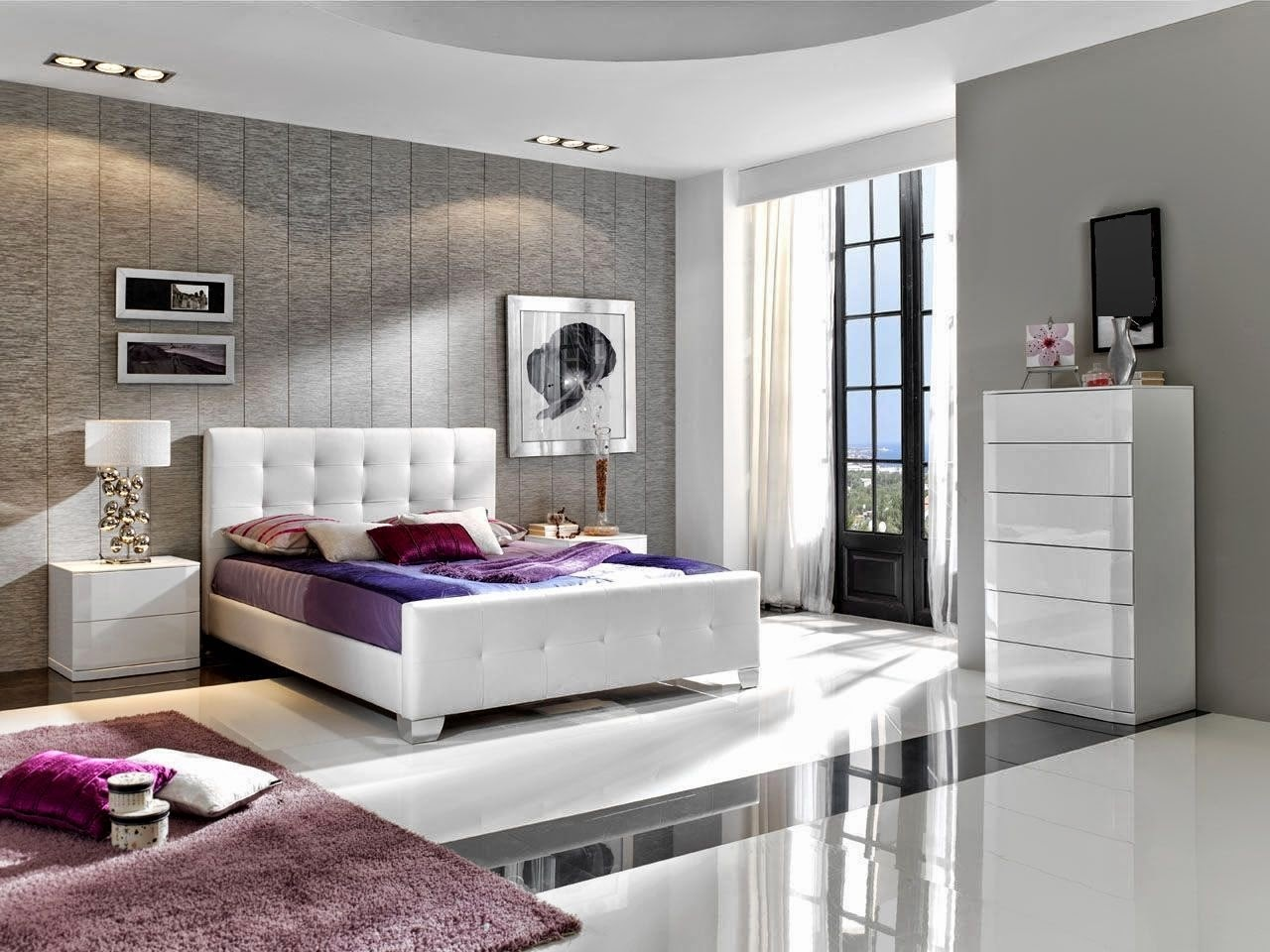 d coration de chambre adulte romantique id es d co moderne. Black Bedroom Furniture Sets. Home Design Ideas