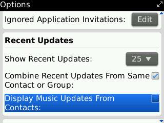 music update tidak muncul di recent update bbm