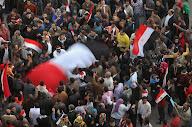 ميدان التحرير بعد تنحى مبارك