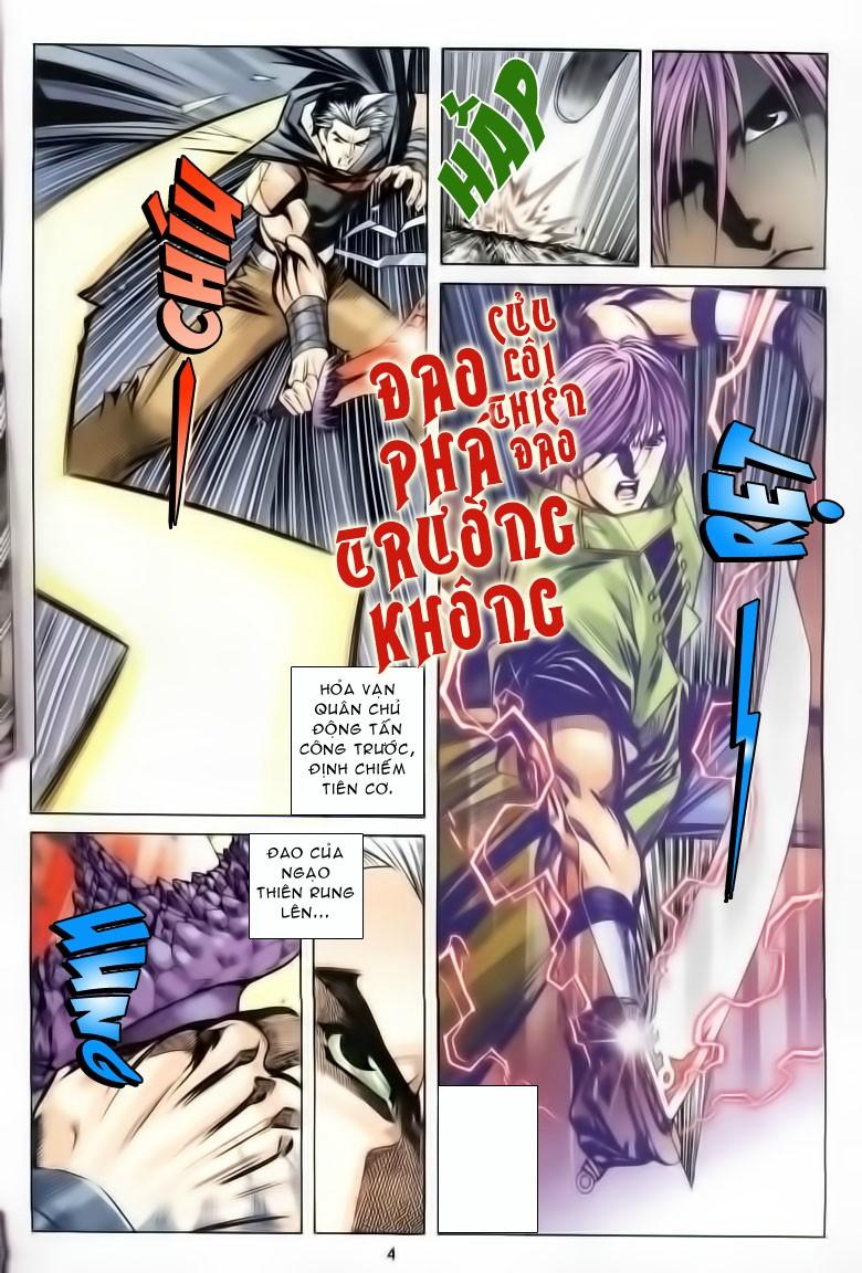Kiếm Hồn - Sword Soul chap 61 - Trang 4