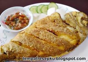 Resep Ikan Goreng Tepung Renyah Enak | Resep Masakan Atika