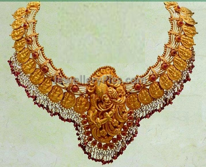shiv parvathi embolished gold antique finish kasulaperu