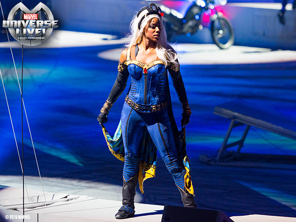 Storm in @MARVELonTour at @TheQArena in CLE