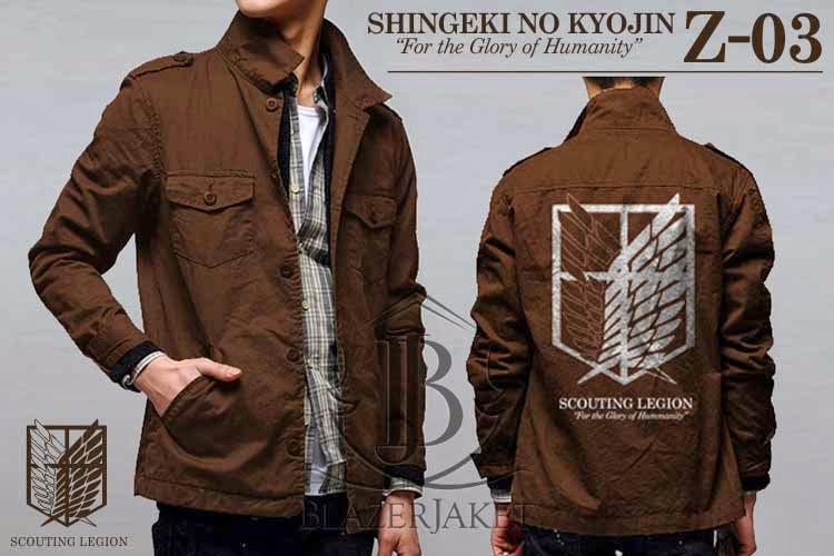 Jaket Anime Shingeki no Kyojin - Scouting Legion blazerjaket jaketblazer blazer