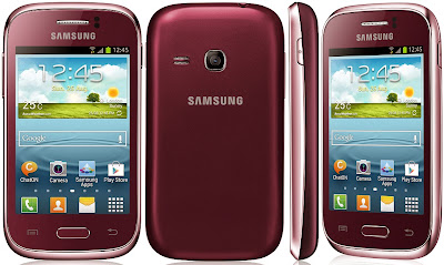 Samsung Galaxy Young Wine Red