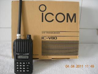 Jual Handy Talky Icom V80 Jual HT Icom V80 Harga Murah