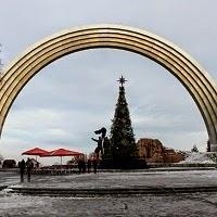 Новый год 2015 и Рождество в Киеве