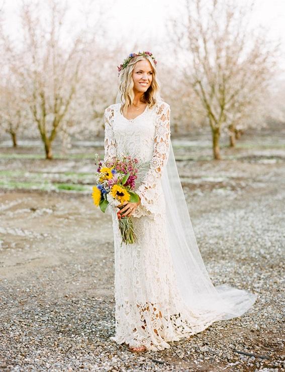 cosas de la abuela: vestidos de novia hechos a crochet