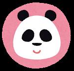 動物のマーク「パンダ」