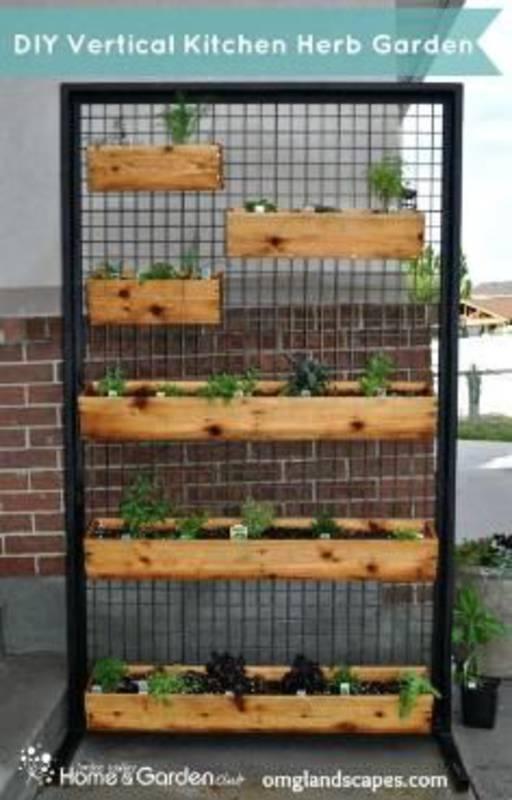 12 fant sticos jardines verticales - Jardin vertical con palets ...