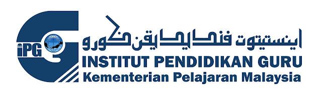 Logo Rasmi Institut Pendidikan Guru (IPG)