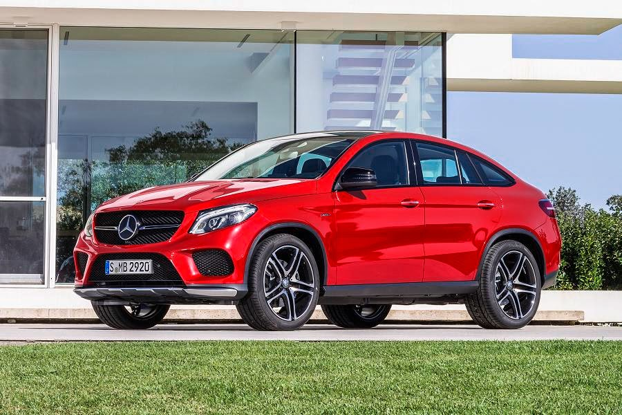 Mercedes-Benz GLE 450 AMG 4Matic Coupé (2015) Front Side