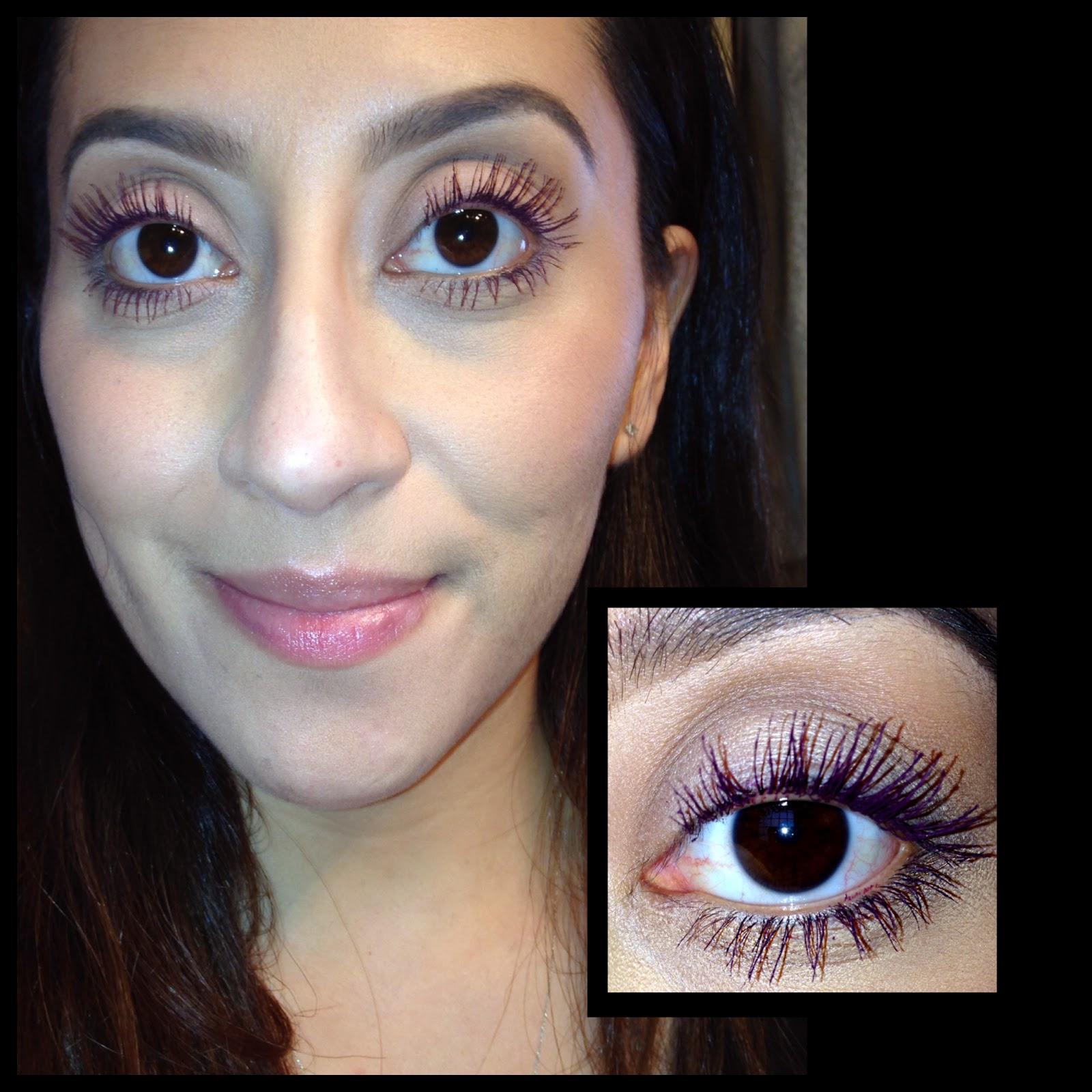 Flower beauty mascara intensif-eye in Black Cherry