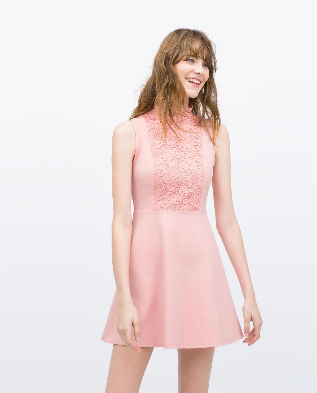 vestidos de temporada zara 2015