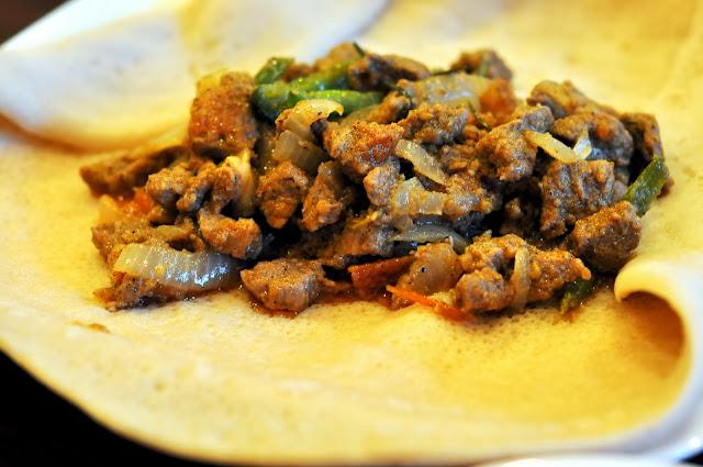 Beef Tibs - Mariam's Restaurant - Allentown, PA