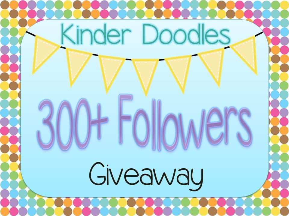 kinder doodles five for friday 300 followers giveaway september currently. Black Bedroom Furniture Sets. Home Design Ideas