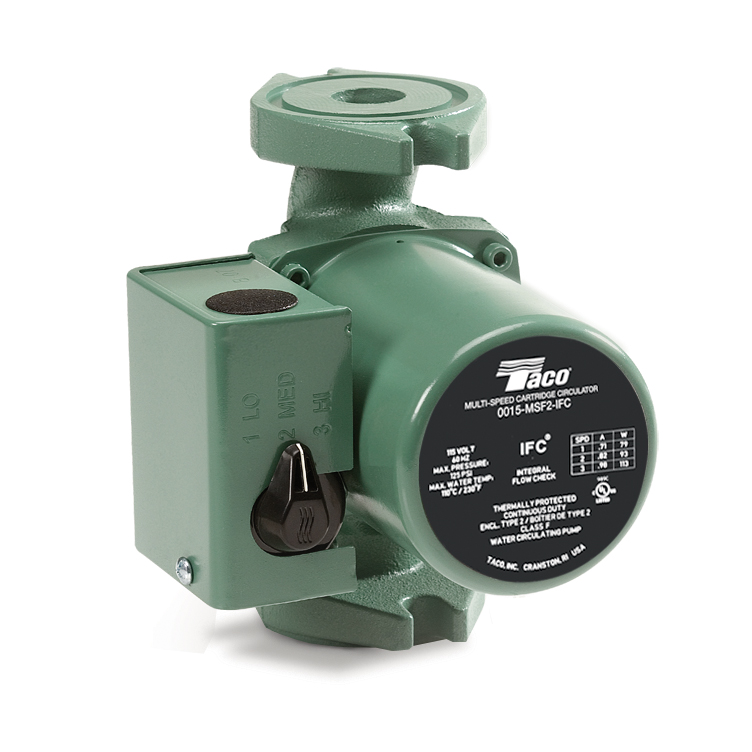 Taco 39 s new 0015 3 speed family of circulators emerson for Emerson ultratech variable speed motor