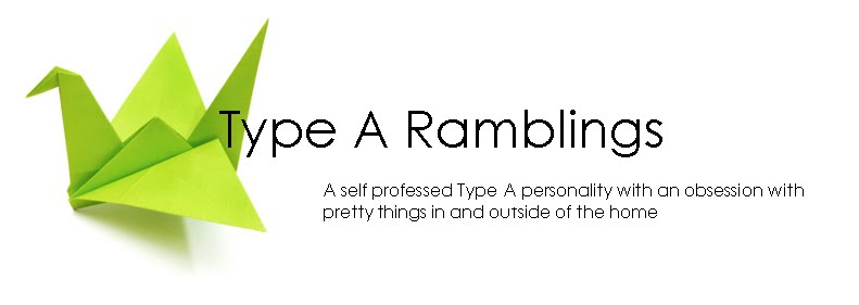 Type A Ramblings