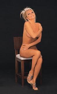 Foto de Graciela Alfano desnuda
