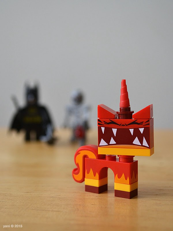 lego: batman and super angry kitty attack - she's super angry