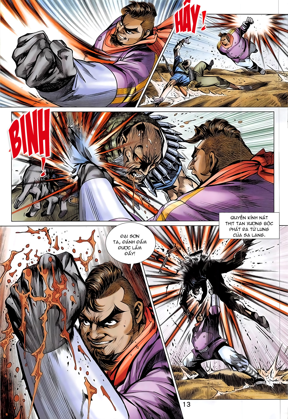 Tân Tác Long Hổ Môn chap 793 Trang 13 - Mangak.info