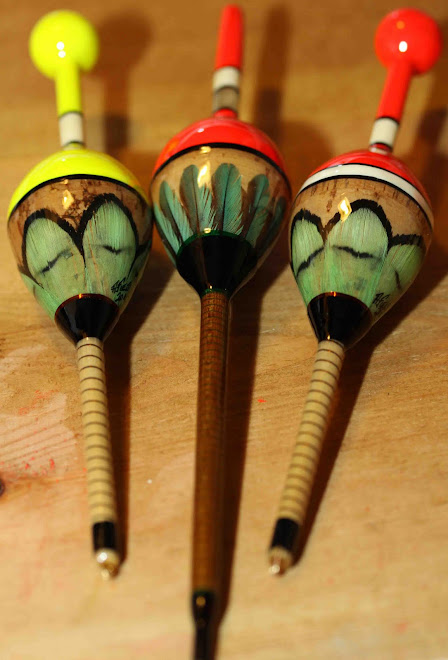 Fluted Pike, Cork Pike, Quill Tip & Greenheart Stem Pike
