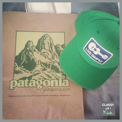 Patagonia Live Simply Guitar Hat