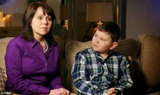 Ryan e sua mãe Cyndi