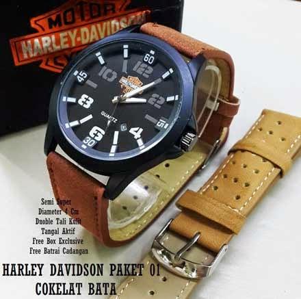 Harley Davidson Paket 01 coklat Bata