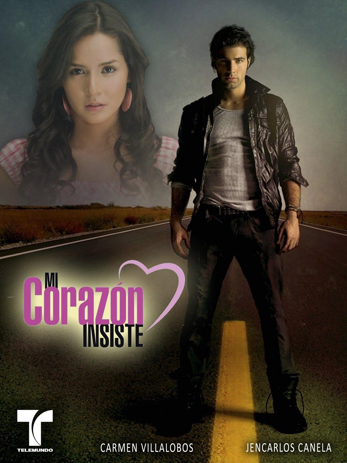 """Poster """"Mi Corazón Insiste ... en Lola Volcan"""""""