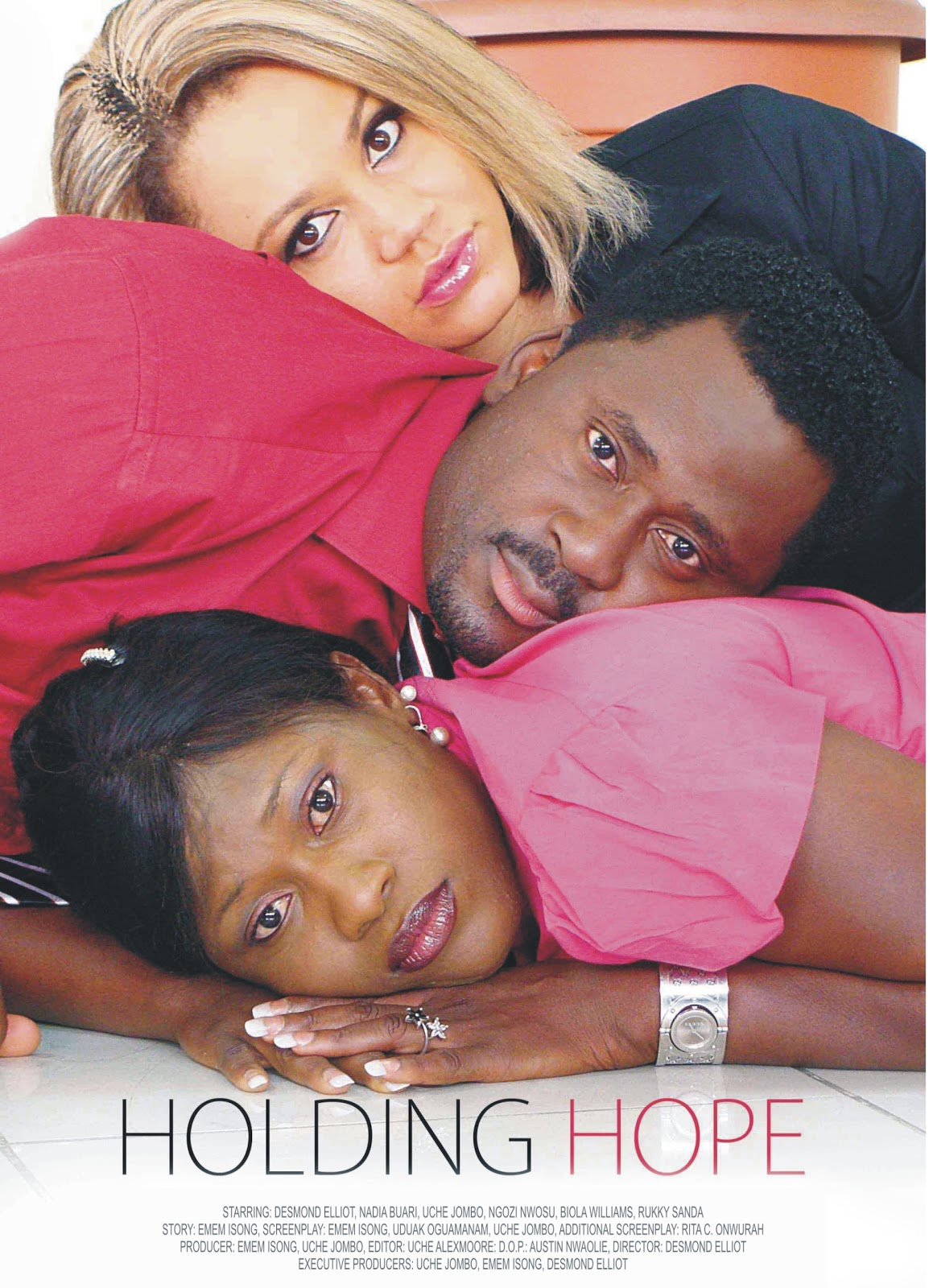 Holding Hope Nigerian Movie Part 2 - Desmond Elliot, Uche Jombo, Nadia Buari