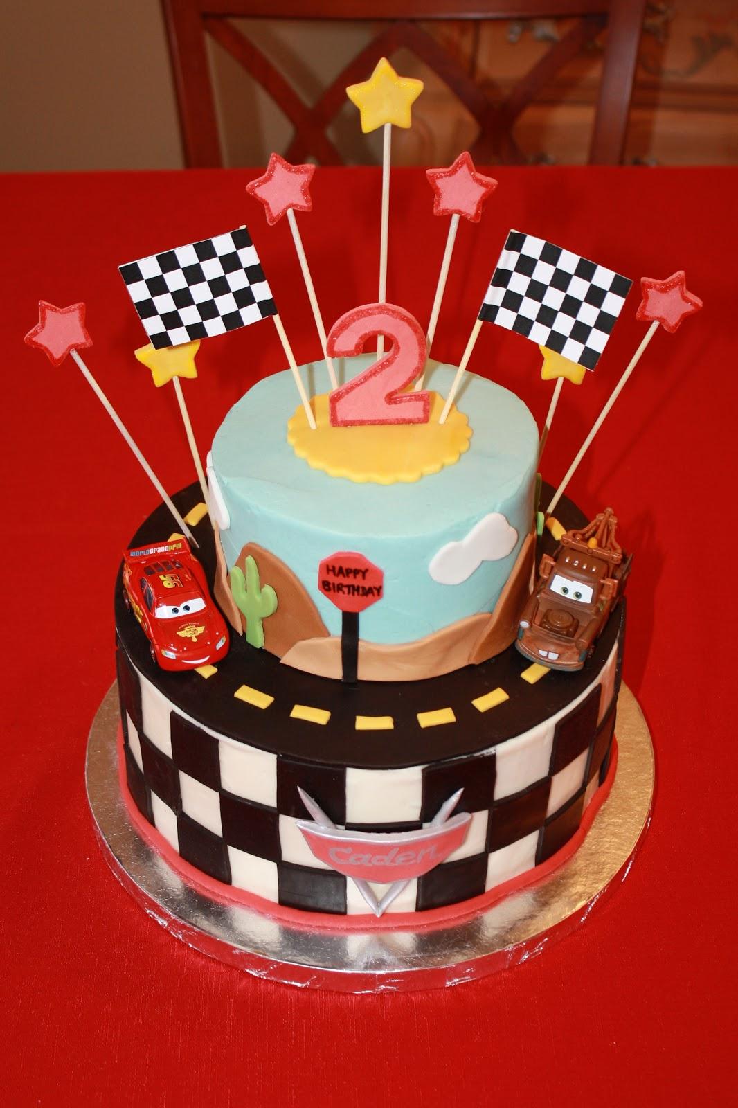Dazzle Cakes Cars Cake