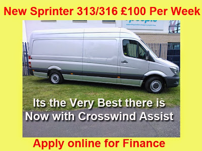 Mercedes Sprinter Monthly Figure Not Changed in Years still £100+VAT Per Week