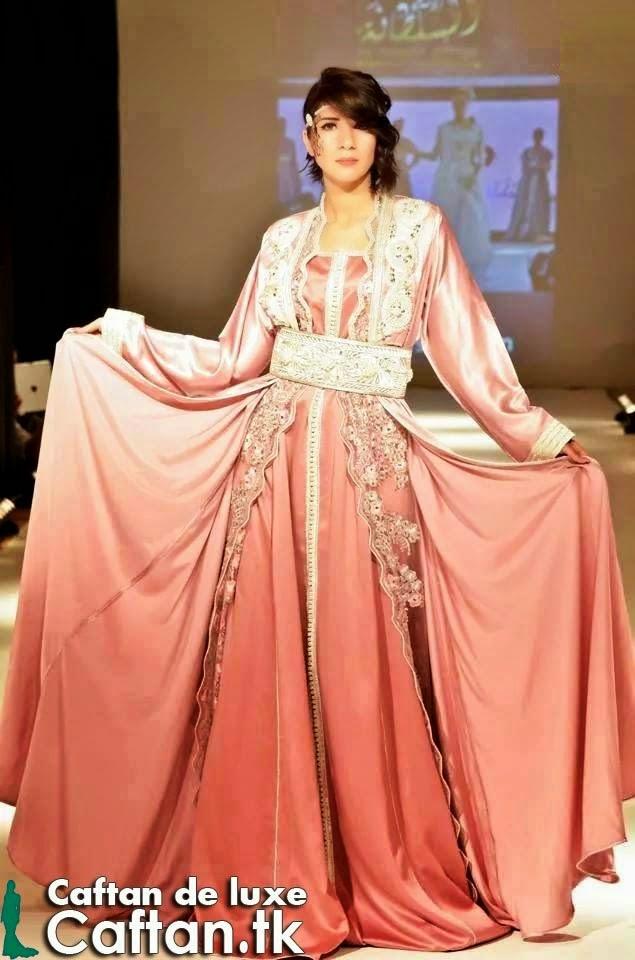 Kaftan 2015 | Butterfly Pink Evening Dress
