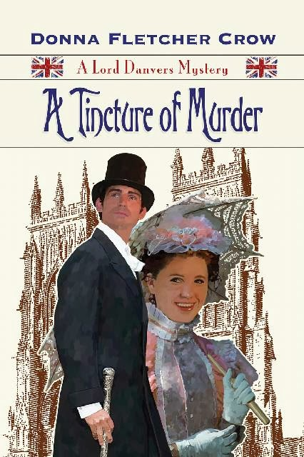 A Tincture of Murder by Donna Fletcher Crow