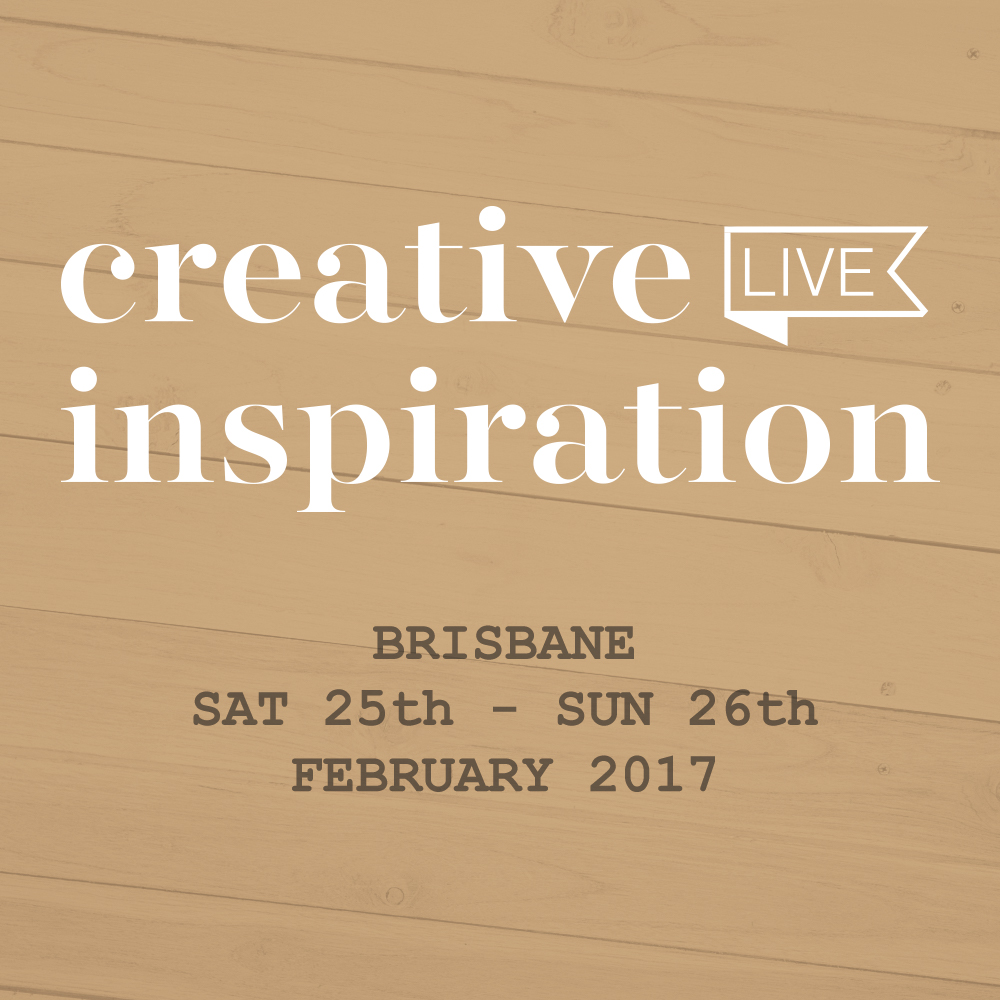 Creative Inspiration Live 2017 Will you be there???