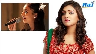 Nazriya Singing Songs for Malayalam Movie