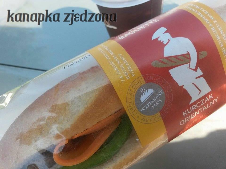 orlen, śniadanie na stacji, gotowa kanapka, kurczak orientalny