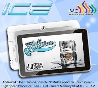 Spesifikasi dan Harga Tablet IMO Tab ICE Terbaru 2013