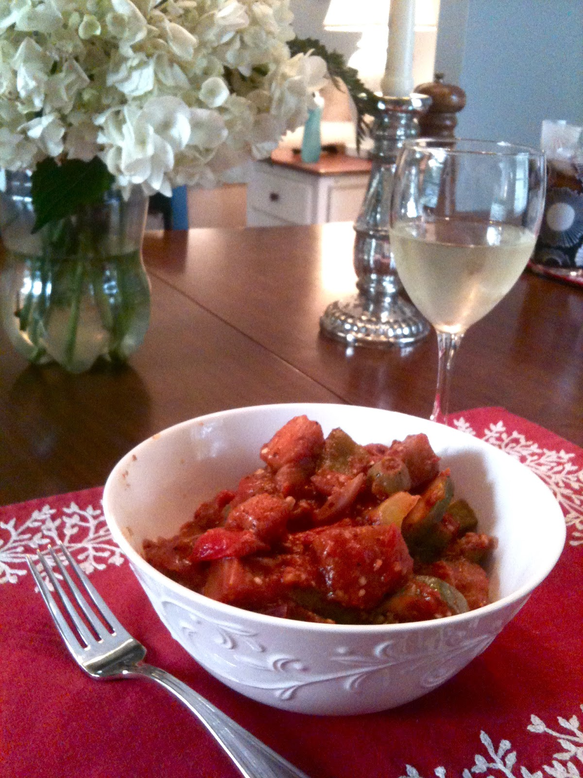 ... Your Food: Quick & Easy: Ratatouille with Roasted Red Pepper Quinoa