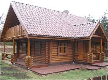 Casa construida con madera maciza planos de casas gratis - Casas de madera maciza ...