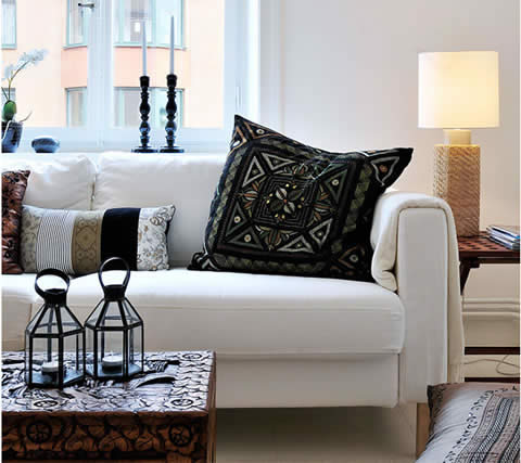 Белый интерьер однокомнатной квартиры, 33 кв.м.: http://vash-dom.mirtesen.ru/blog/43036509588