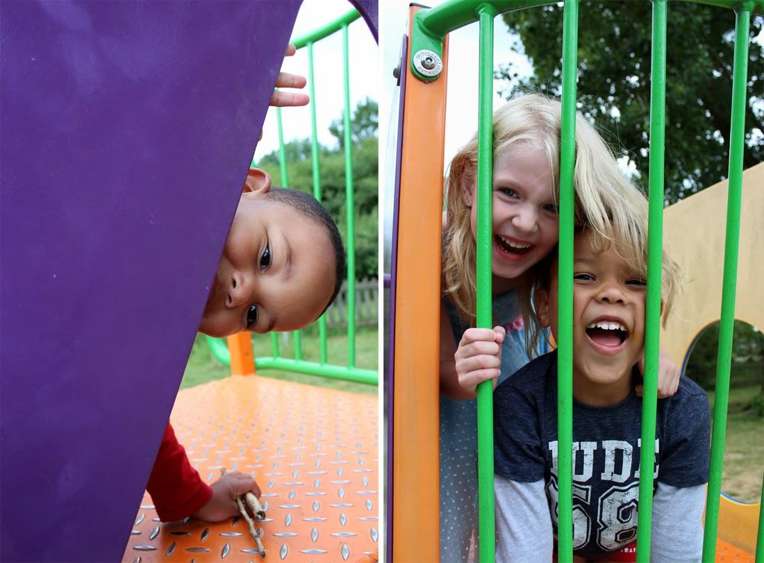 laughing kids, childhood friendship, playground