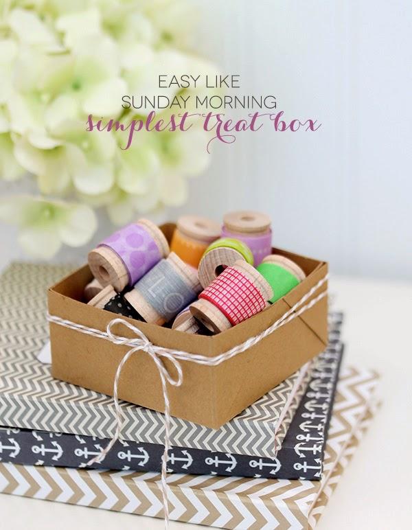 Makers + Shakers Damask Love simplest treat box