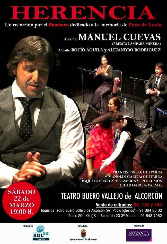 Festivales flamencos herencia un recorrido por el - Teatro buero vallejo alcorcon ...