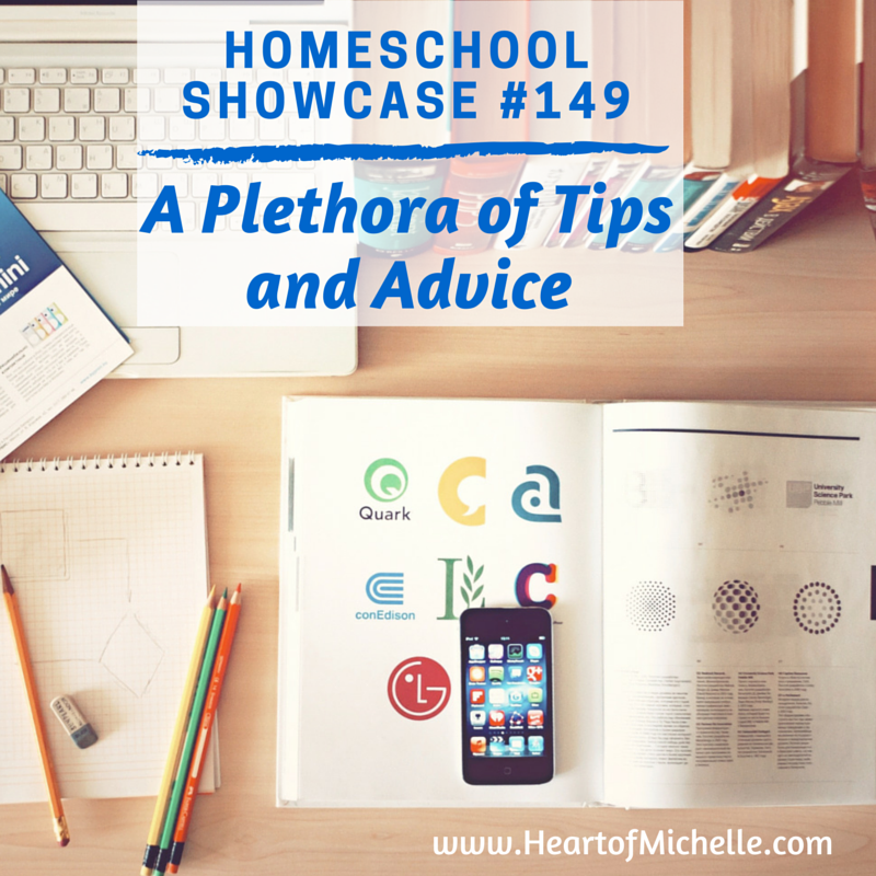 In this edition of the Homeschool Showcase, you'll find a wealth of tips and advice for your homeschool journey.