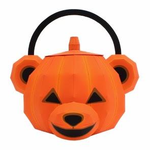 Halloween Teddy Bear Bag Papercraft