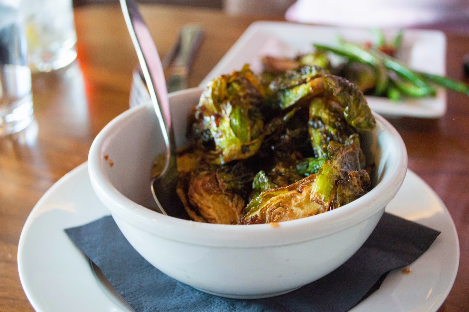 hubbards grill columbus ohio baked brussel sprouts